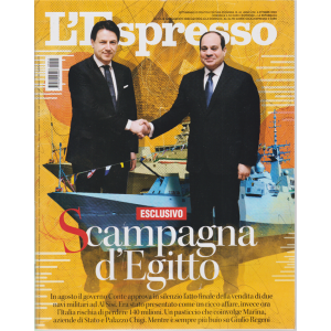 L'espresso - n. 41 - settimanale - 4 ottobre 2020
