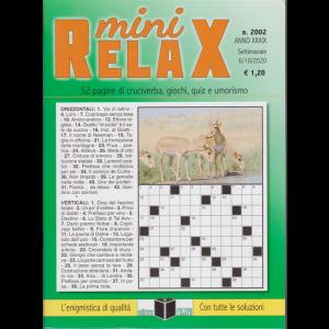 Mini Relax - n. 2002 - settimanale - 6/10/2020 -