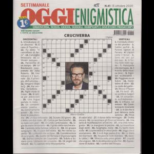 Settimanale Oggi Enigmistica - n. 41 - 13 ottobre 2020 -
