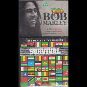 Gli speciali musicali di Sorrisi n. 12 - 2/10/2020 - Bob Marley - 6° CD Survival - formato maxi digipack + libretto inedito