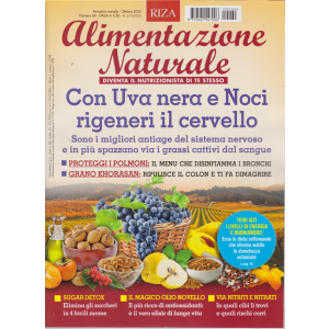 Alimentazione Naturale - n. 60 - mensile - ottobre 2020
