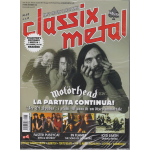 Classix! Metal - Motorhead - n. 43 - ottobre - novembre 2020 - bimestrale - 2 riviste