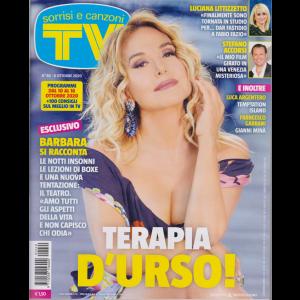Sorrisi e Canzoni Tv - n. 40 - settimanale - 6 ottobre 2020 -
