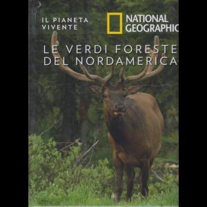 Il Pianeta Vivente - National Geographic - Le verdi foreste del nordamerica - n. 50 - 6/10/2020 - settimanale - copertina rigida