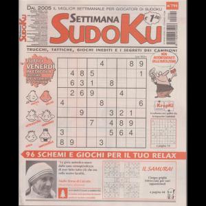 Settimana Sudoku - n. 791 - settimanale - 9 ottobre 2020