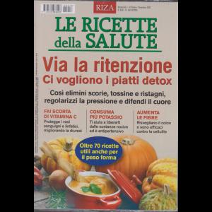 Le Ricette della salute - n. 18 - ottobre - novembre 2020 - bimestrale