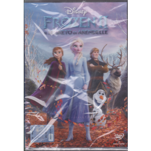 I Dvd di Sorrisi - Frozen 2 - Il Segreto di Arendelle - n. 18 - settimanale - 6 ottobre 2020 -