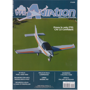 Vfr Aviation - n. 64 - ottobre 2020 - mensile di aviazione