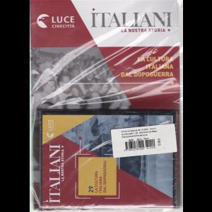 Italiani - La nostra storia - La cultura italiana dal dopoguerra - n. 29 - 2/10/2020 - quindicinale -