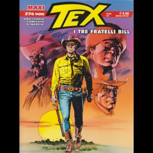 Tex Maxi - I tre fratelli Bill - n. 27 - ottobre 2020 - semestrale - 276 pagine