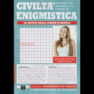 Civilta' Enigmistica - n. 429 - quindicinale - 6 ottobre 2020