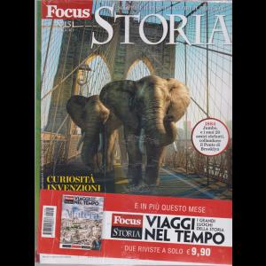 Focus Storia  - n. 151 - maggio 2019 - + Focus storia viaggi nel tempo. Matera - i grandi luoghi della storia  - 2 riviste