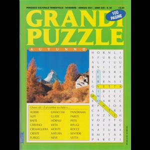 Grandi Puzzle - Autunno -  n. 88 - trimestrale - novembre - gennaio 2021 - 100 pagine