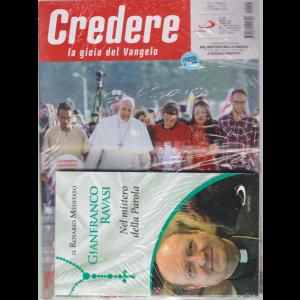 Credere - n. 41 - settimanale - 11 ottobre 2020 + il libro Il Rosario meditato - Gianfranco Ravasi - Nel mistero della Parola. - rivista + libro