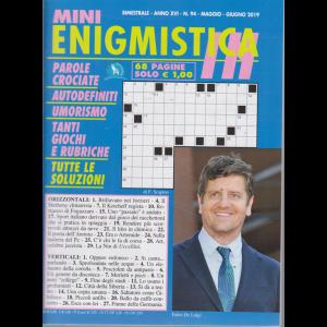 Mini Enigmistica In - n. 94 - bimestrale - magio - giugno 2019 - 68 pagine