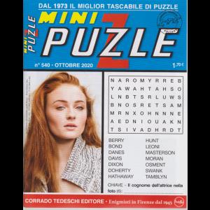 Minipuzzle - n. 540 - ottobre 2020 - mensile