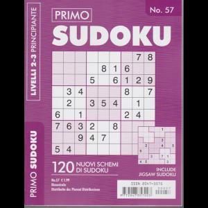 Primo Sudoku - n. 57 - bimestrale - livelli 2-3 principiante