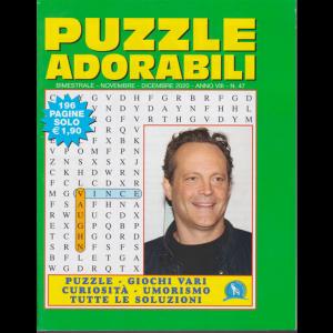 Puzzle  Adorabili - n. 47 - bimestrale - novembre - dicembre 2020 - 196 pagine