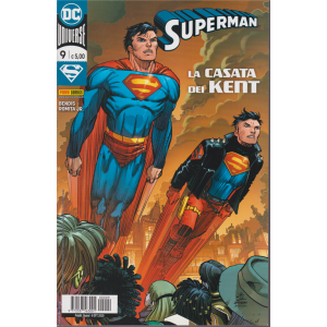 Superman - n. 9 - La casata dei Kent - quindicinale - 8 ottobre 2020