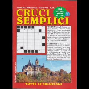 Cruci Semplici - n. 99 - bimestrale - novembre - dicembre 2020 - 68 pagine