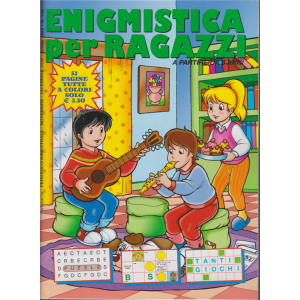 Enigmistica per ragazzi - n. 153 - bimestrale - novembre - dicembre 2020 - 52 pagine tutte a colori