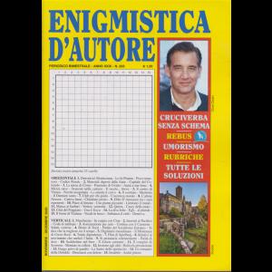Enigmistica d'autore - n. 203 - bimestrale - novembre - dicembre 2020