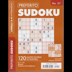 Preferito Sudoku - n. 57 - bimestrale - livelli 3-4 intermedio