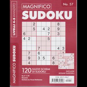 Magnifico Sudoku - n. 57 - bimestrale - livelli 4-5 avanzato -