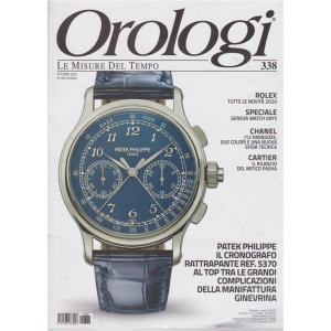 Orologi - n. 338 - ottobre 2020 - mensile