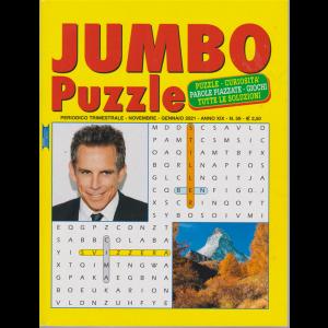 Jumbo Puzzle - n. 59 - trimestrale - novembre - gennaio 2021 -