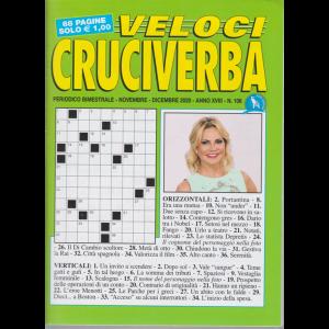 Veloci Cruciverba - n. 108 - bimestrale - novembre - dicembre 2020 - 68 pagine