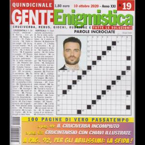 Gente Enigmistica - n. 19 - quindicinale - 10 ottobre 2020 - 100 pagine di vero passatempo
