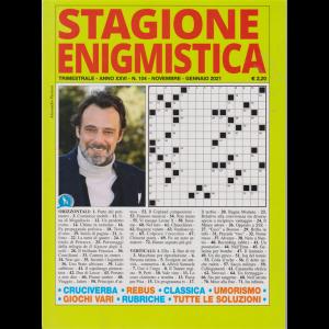 Stagione Enigmistica - n. 104 - trimestrale - novembre - gennaio 2021