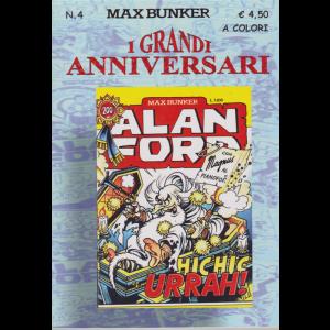 Alan Ford Tnt Grandi - Hic Hic Urrah - I grandi anniversari - n. 4 - ottobre 2020 - a colori