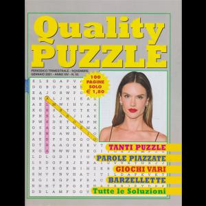 Quality Puzzle - n. 53 - trimestrale - novembre gennaio 2021 - 100 pagine