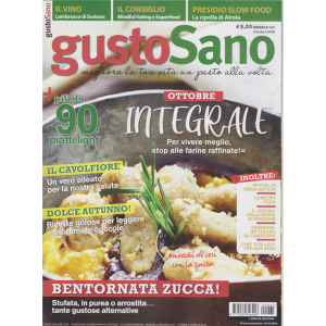 Gustosano - n. 65 - mensile - ottobre 2020