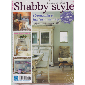 Shabby Style - Casa e deco - + Vivere country - n. 38 - bimestrale - settembre - ottobre 2020 - 2 riviste
