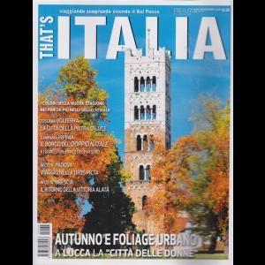That's Italia - n. 38 - ottobre - novembre 2020 - bimestrale