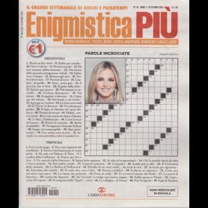Enigmistica Piu' - n. 42 - settimanale - 20 ottobre 2020
