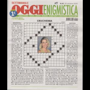 Settimanale Oggi Enigmistica - n. 42 - 20 ottobre 2020 -