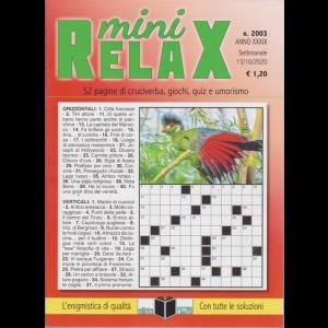 Mini Relax - n. 2003 - settimanale - 13/10/2020 -