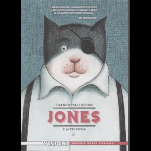 Graphic Novel Italia - Jones e altri sogni - Franco Matticchio - Visioni - n. 24 - settimanale