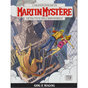 I grandi enigmi di Martin Mystere - Gog e Magog - n. 371 - ottobre 2020 - bimestrale