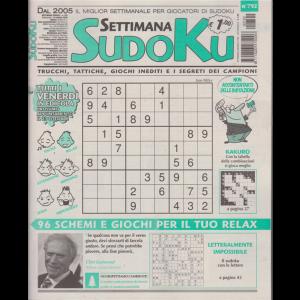Settimana Sudoku - n. 792 - settimanale - 16 ottobre 2020