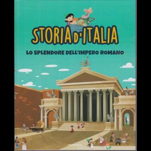 Storia d'Italia - Lo splendore dell'impero romano - n. 9 - 13/10/2020 - settimanale - copertina rigida
