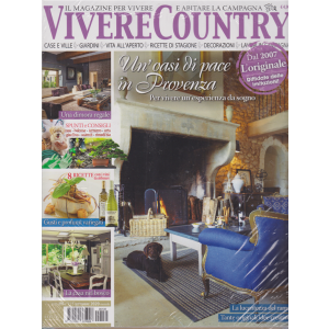 Vivere Country - + Shabby style - n. 135 - settembre 2020 - mensile - 2 riviste