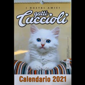 Calendario 2021I nostri amici gatti cuccioli cm. 29x42 con spirale