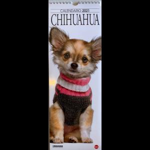 Calendario 2021 Chihuahua cm. 14.5x41 con spirale