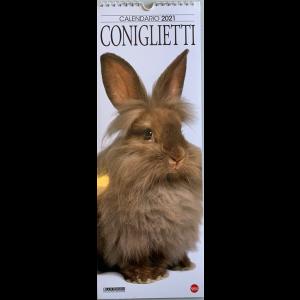 Calendario 2021 Coniglietti cm. 14.5x41 con spirale