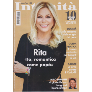 Intimita' - R. Dalla Chiesa - n. 42 - settimanale - 21 ottobre 2020